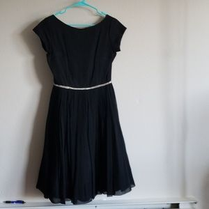 Vintage black party dress